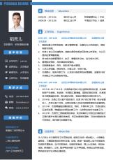 财务高级经理经典3-5年经验简历.docx