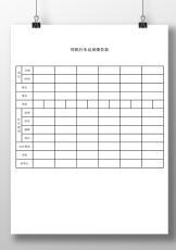 司机行车记录报告表.doc