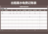 出租屋电费记账单(自动计算).xls