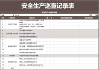 安全生产巡查记录表.xls