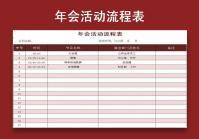 年会活动流程表.xlsx