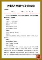 连锁店圣诞节促销活动.docx