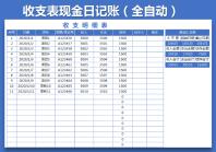 财务收支表(全自动).xlsx