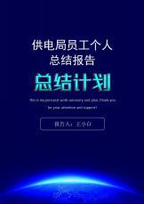 供电局员工个人汇报(范本).docx