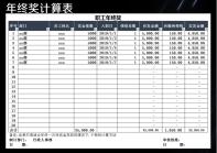 年终奖金发放自动计算表格.xls
