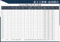 工资表(模板).xls