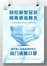 防范冠状病毒肺炎宣传海报.docx