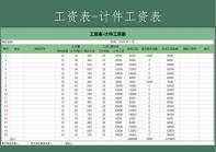 工资表-按件计算自动版.xls