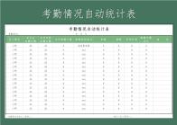 考勤情况自动统计表.xls