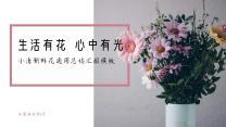 粉色小清新总结汇报PPT模板.pptx