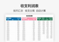 财务管理-收支表利润表.xlsx