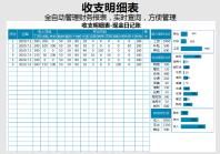 收入支出日记账表(全自动).xlsx