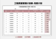 工程质量管理计划表-月度计划.xlsx