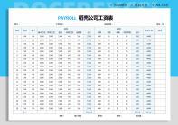 工资表(自动统计自动计算).xlsx