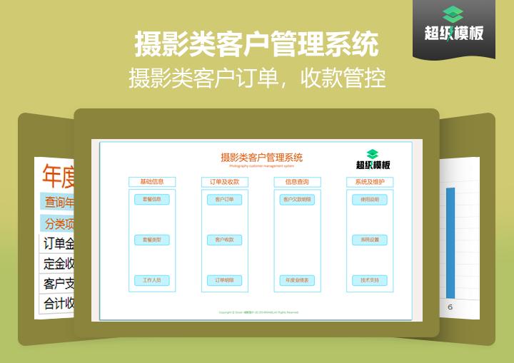 【免费试用】客户管理系统(影楼类)-超级模板.xlsx.xlsx