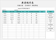 库存统计表-自动统计.xlsx