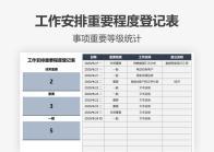 工作安排重要程度登记表.xlsx