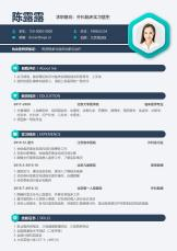 简约绿色外科实习医生春招简历.docx