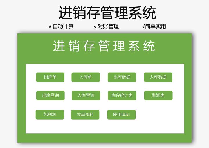 进销存管理系统(带利润表).xlsx