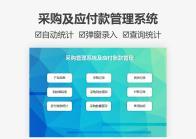 采购管理系统及应付账款管理.xlsm