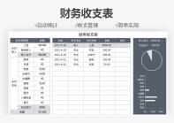 财务收支表(自动统计).xlsx