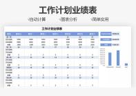 工作计划业绩表.xlsx