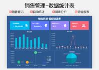 销售管理-数据统计表.xlsx