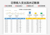 日常收入支出流水记账表.xlsx